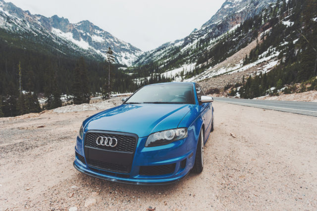 Audi in the mountains_tire maintenance_autostar transport
