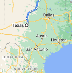 area where we serve our car shipping services in texas