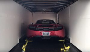 shipping a car from texas to michigan in enclosed car trailer