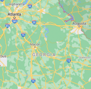 area where we serve our car shipping services in Georgia