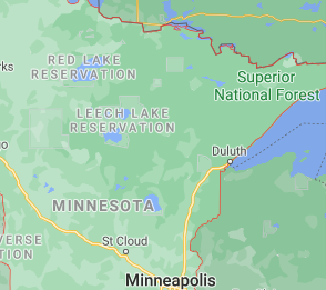 Main area of minnesota where we offer our car shipping services
