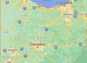 Major areas of ohio where we offer our car shipping services