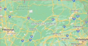 Major Areas Where we offer our car shipping services in Pennsylvania