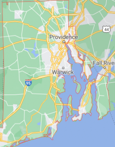 Major Areas Where we offer our car shipping services in Rhode Island