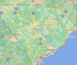 Major Areas Where we offer our car shipping services in South Carolina