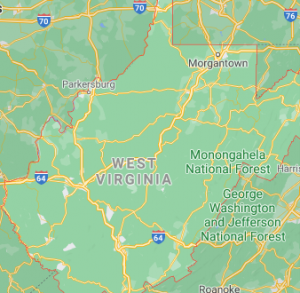 Major Areas Where we offer our car shipping services in West Virginia