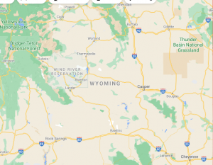 Major Areas Where we offer our car shipping services in Wyoming