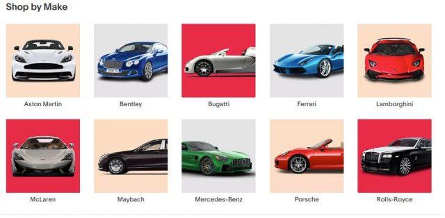 Ebay Motors, an online car auction site